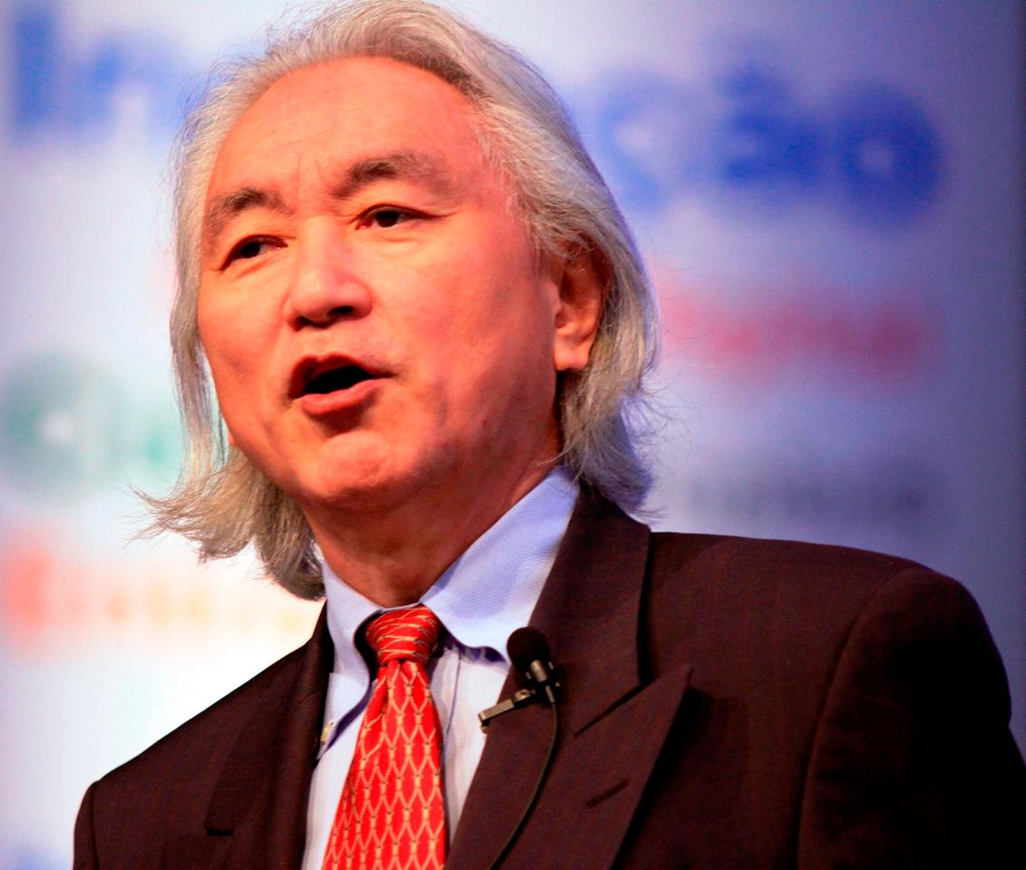 Michio Kaku giving a talk at Campus Party Brasil on February 11th 2012