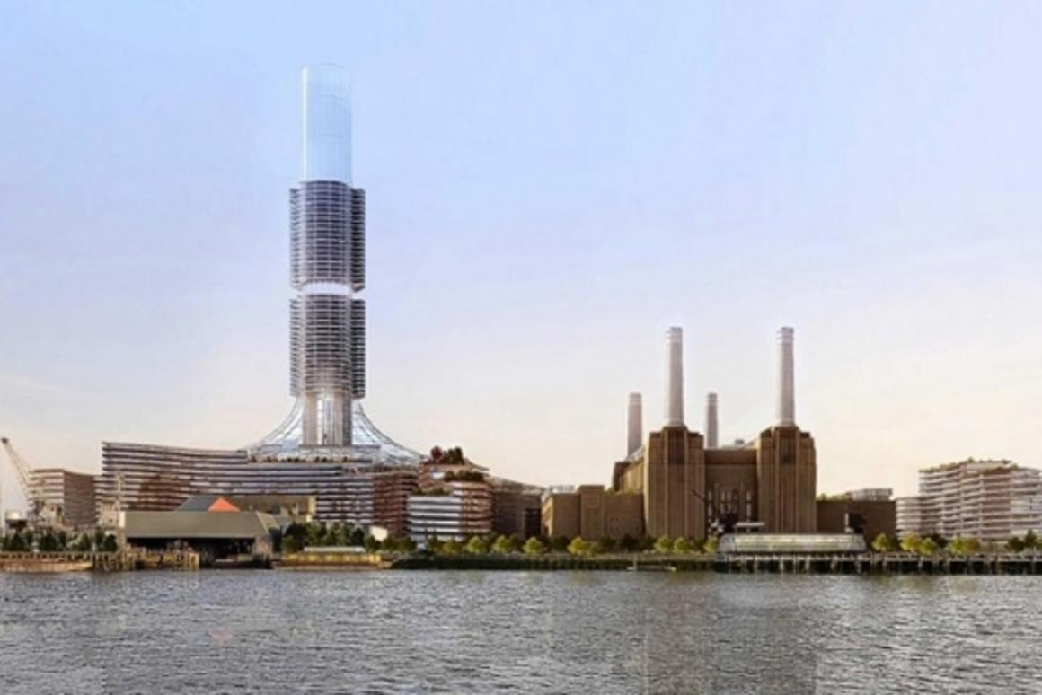 REO's planned redevelopment of London's Battersea Power Station