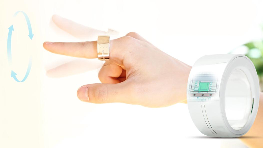 Ring's gesture recognition is precise enough to identify letters written in mid air