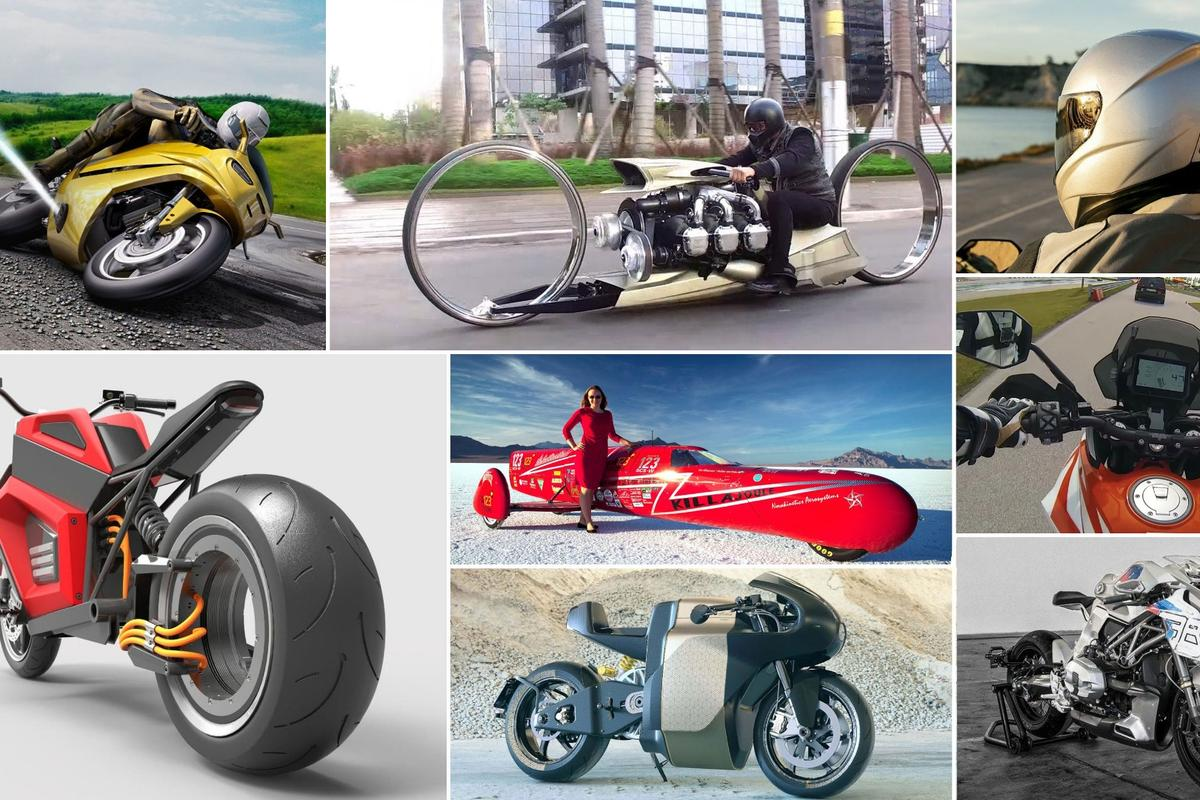 The best new technologies, riding gear, interviews, customs and electric motorcycles of 2018