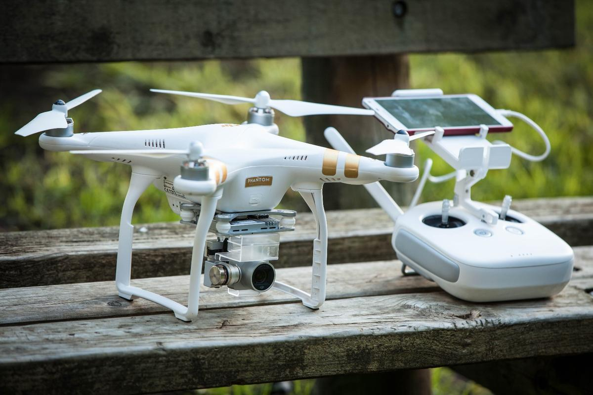DJI's Phantom 3 Professional - a huge upgrade from the Phantom 2 Vision+