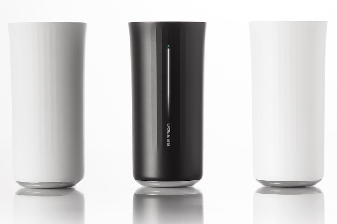 Vessyl is a smart cup that analyzes liquids to tell you what you're drinking