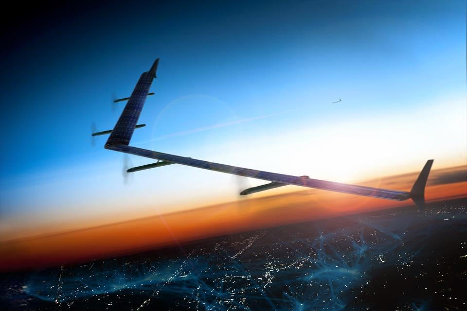 Facebook has successfully tested its internet-beaming drones in the UK