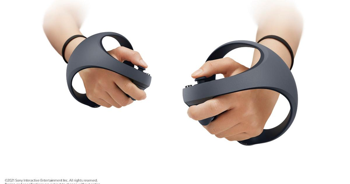 Sony reveals PlayStation 5 VR controllers