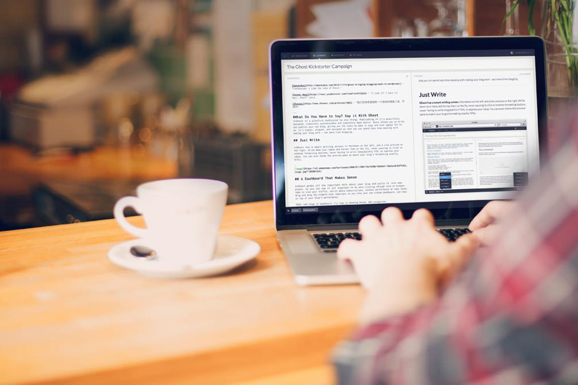 Ghost, a new free blogging platform, has opened its doors to the public