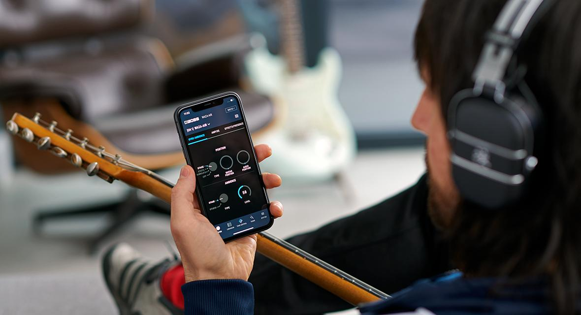 Sonic customization is possible through the Tone Studio mobile app for iOS and Android