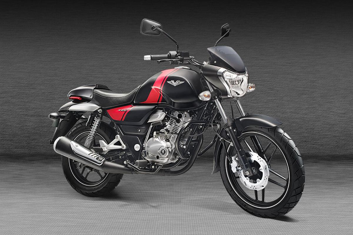 The V is an affordable commuter that Bajaj hopes will help strengthen its presence in a very competitive market segment