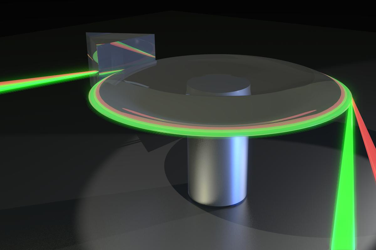 Thermometer made of light is claimed accurate to 30 billionths of a degree (Image: Dr. James Anstie, University of Adelaide)