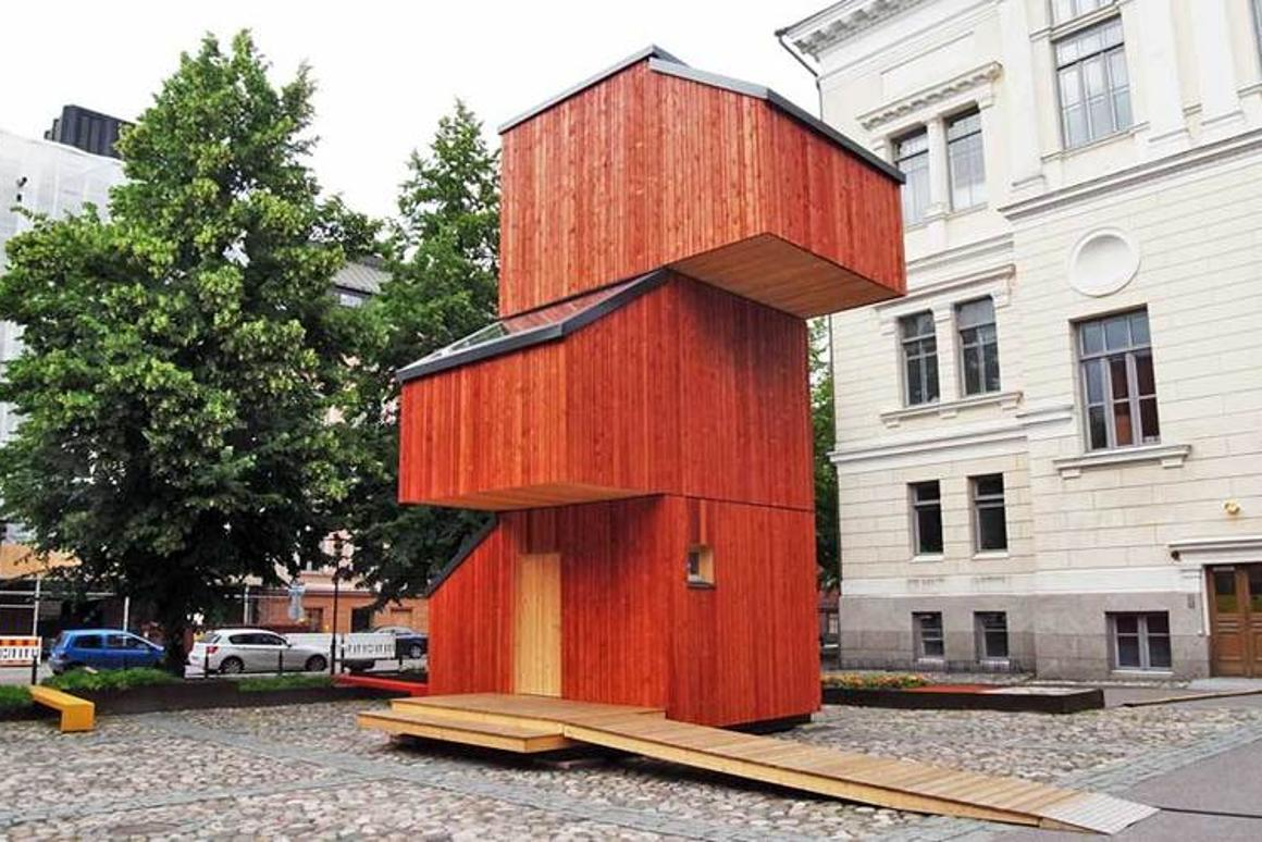 Kokoon is intended as a short-term housing solution and would shelter those who need it for up to one year