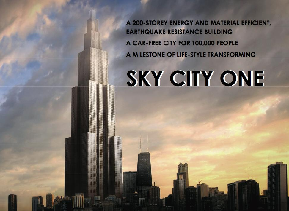 Chinese construction company Broad Group has announced ambitious plans to construct the world's tallest skyscraper in an implausibly swift 90 days (Image: Broad Group)