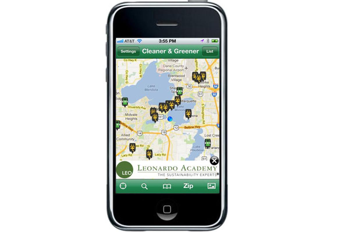 Leonardo Academy's Cleaner and Green Fuels app