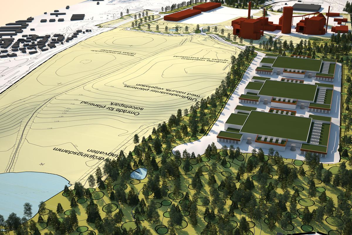 Under construction in Sweden, EcoDataCenter will have a positive impact on the world around it (Image: EcoDataCenter)