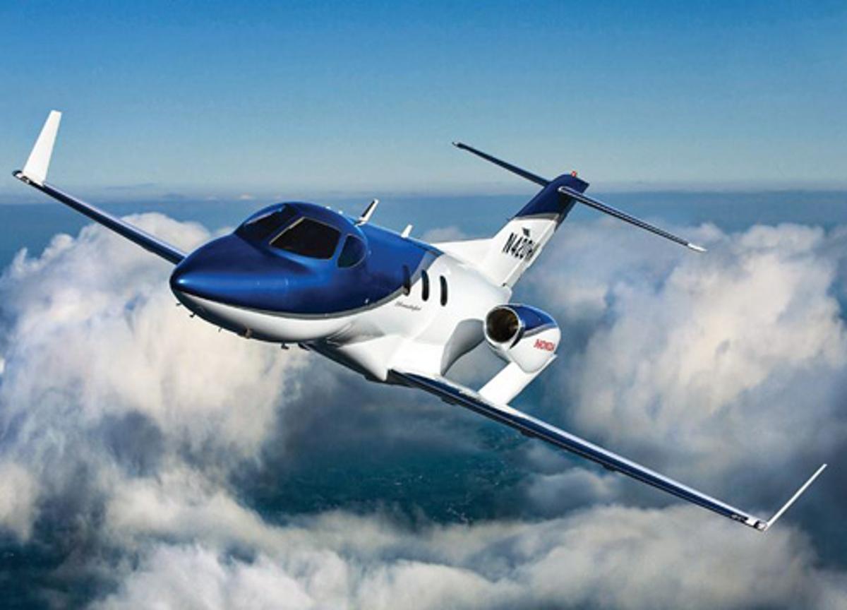 The HF120 is designed to power the HondaJet executive jet