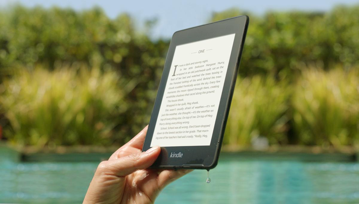 The new Kindle Paperwhite is the first in the series to feature IPX8 waterproof rating