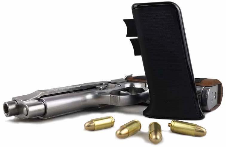 The Ragnok Mousegun replicates the handle of the Desert Eagle pistol