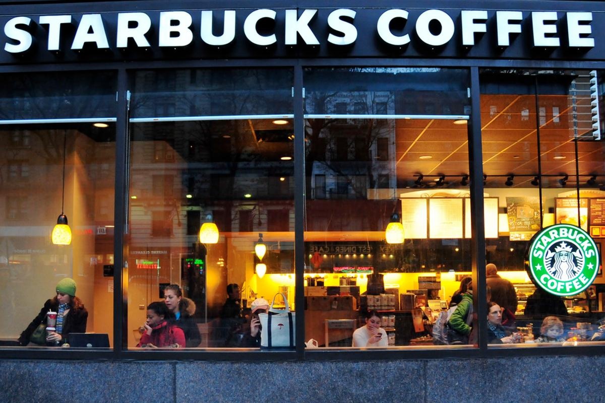 Starbucks is to trial wireless charging maps at 17 stores in and around Boston during the holiday season (Photo: Ed Yourdon)