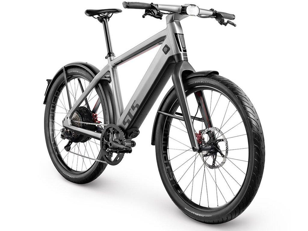 Stromer ST-5: up to 180 km of range, or more like 60 km if you thrash this thing flat out