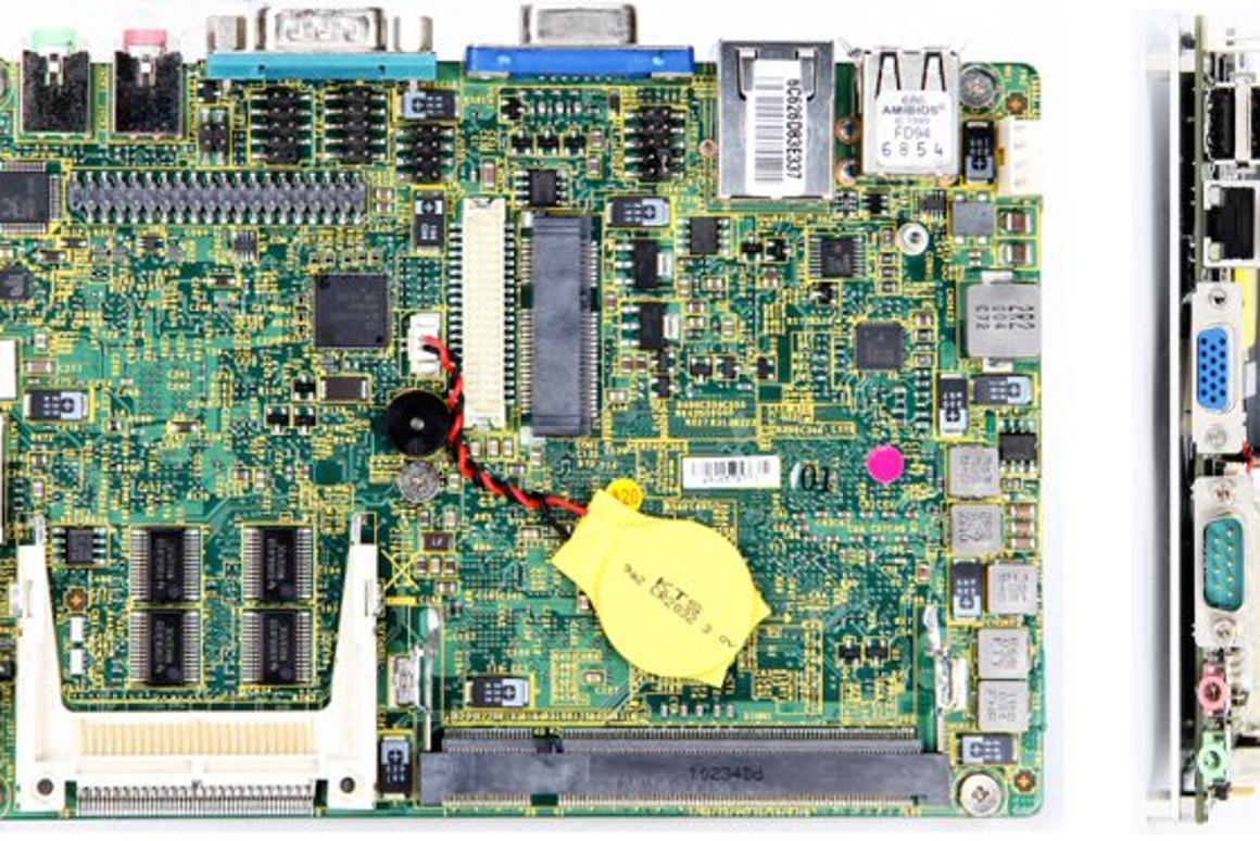 MSI has added an Atom-powered, fanless mini-mainboard to its industrial platform computing range