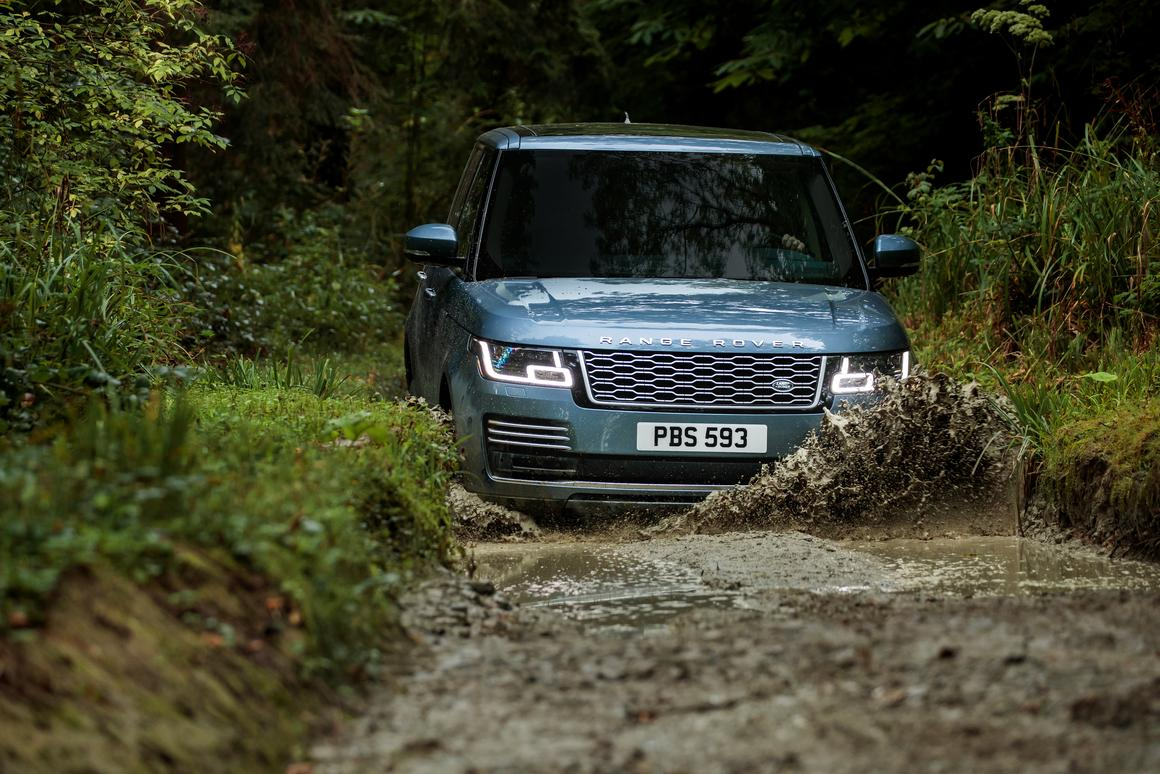 The Range Rover P400e is available for order now
