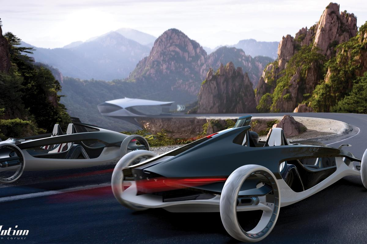 Air time – Volvo Air Motion concept runs on compressed air