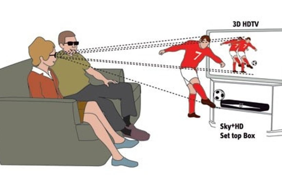 Sky plan to launch Europe's first 3D TV channel