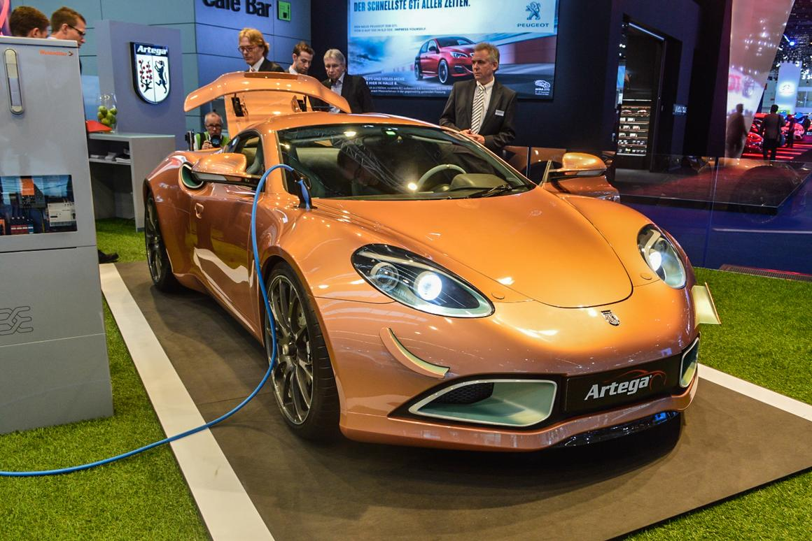 Artega Scalo electric sports car combines electric muscle
