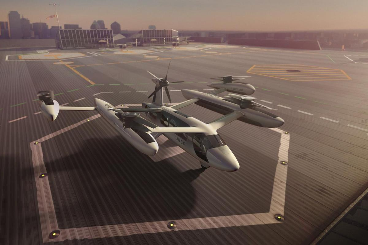 Uber first revealed plans for its flying taxi service in 2016
