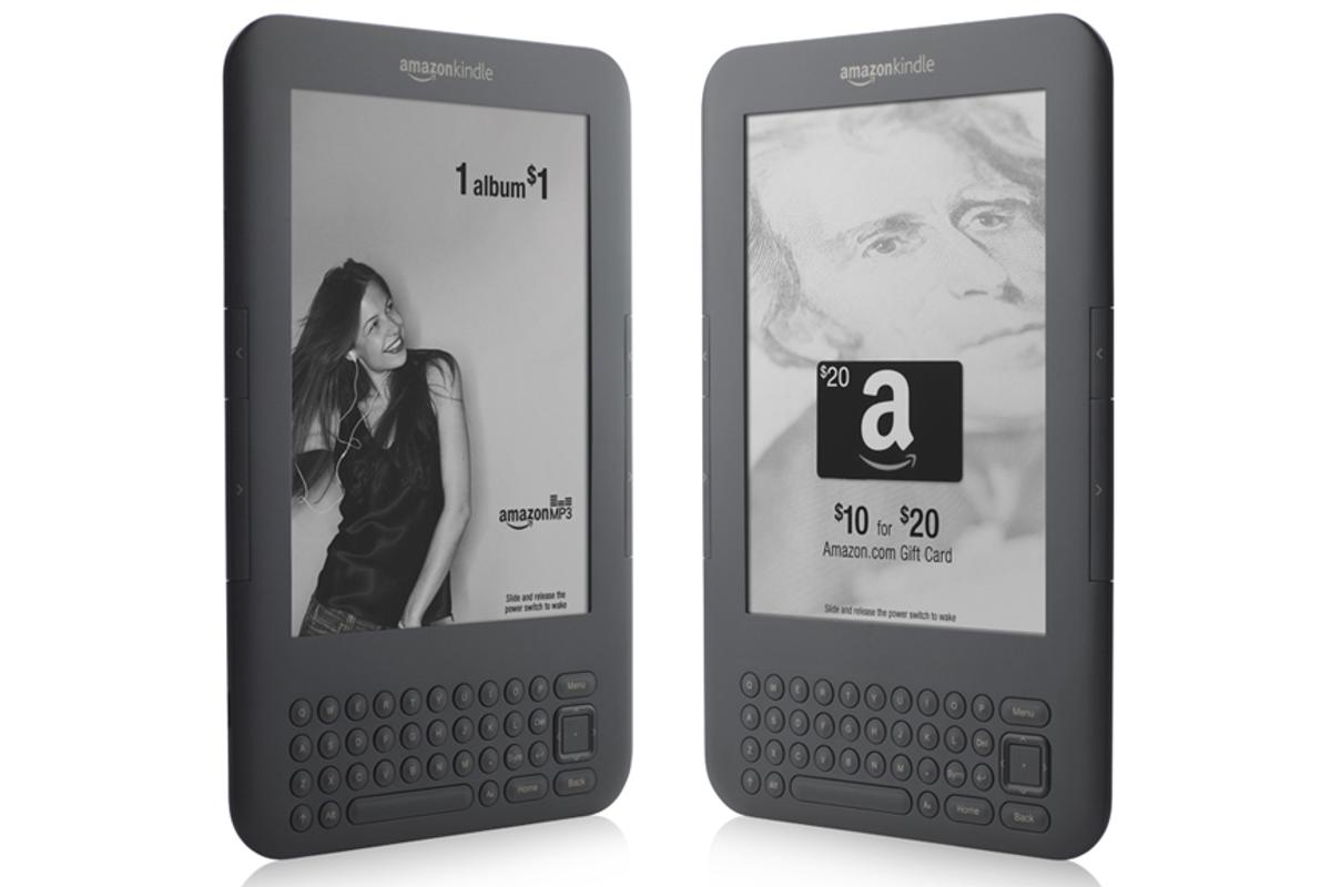 """The """"sponsored screensavers"""" on the Kindle with Special Offers"""