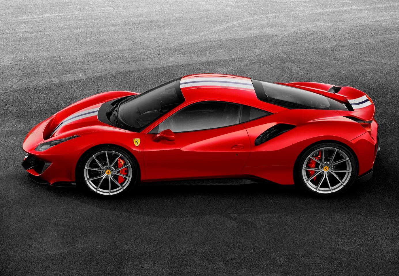 Ferrari 488 Pista: much sharper aeros than the 488 GTB