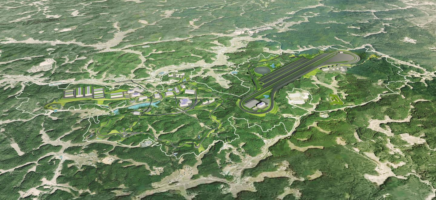 A 650-hectare dream facility nestles in the mountains fringing Nagoya