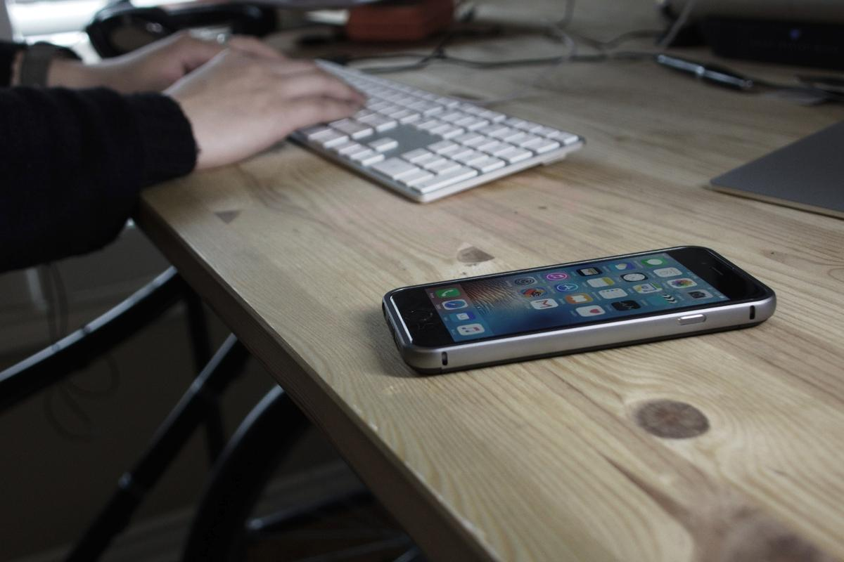 The Air Case is a super-slim charging case for later iPhone models