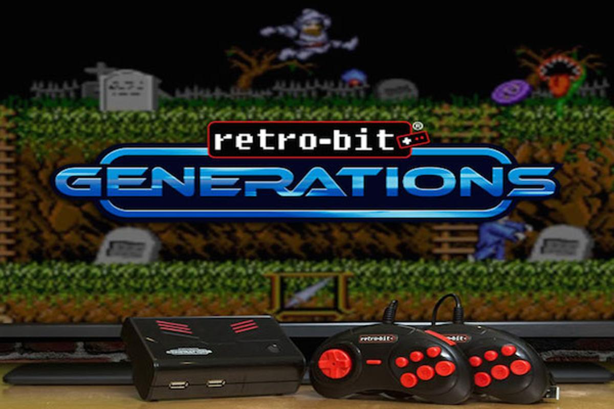 Retro-Bit Generations is releasing a new plug-and-play console loaded with over 100 games from the arcade era