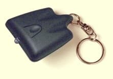 The keychain-mounted TV-B-GONE can secretly switch off televisions in public places.