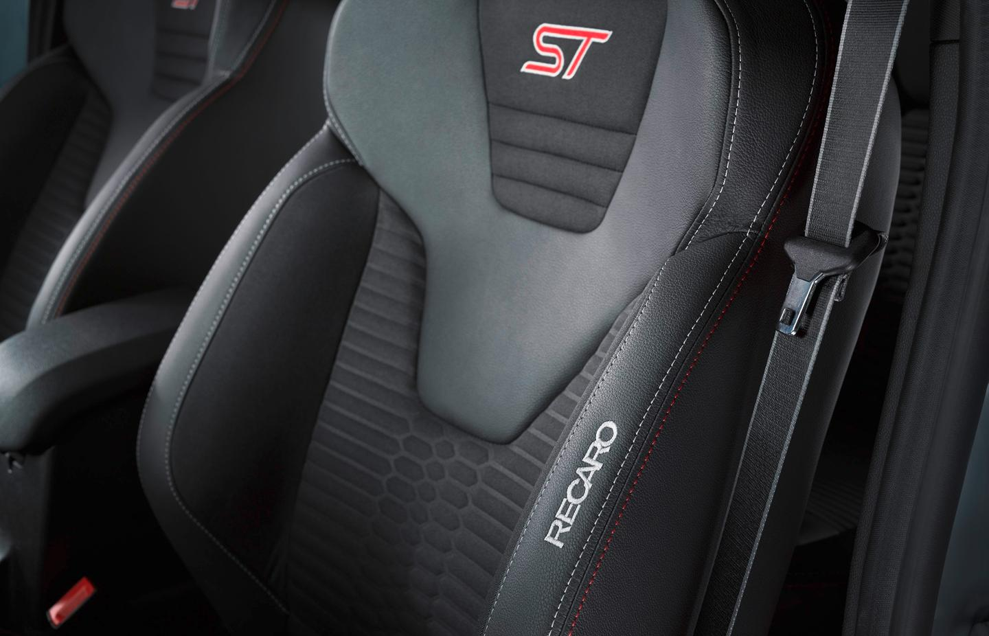 The Fiesta ST's interior has been left largely untouched, although there wasn't much wrong with it in the first place