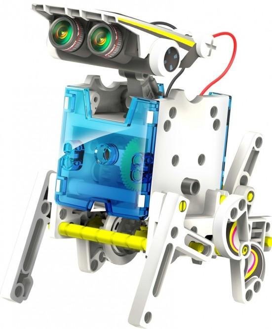 Créez 14 robots solaires avec un ensemble éducatif de robots solaires 14-en-1 d'OWI