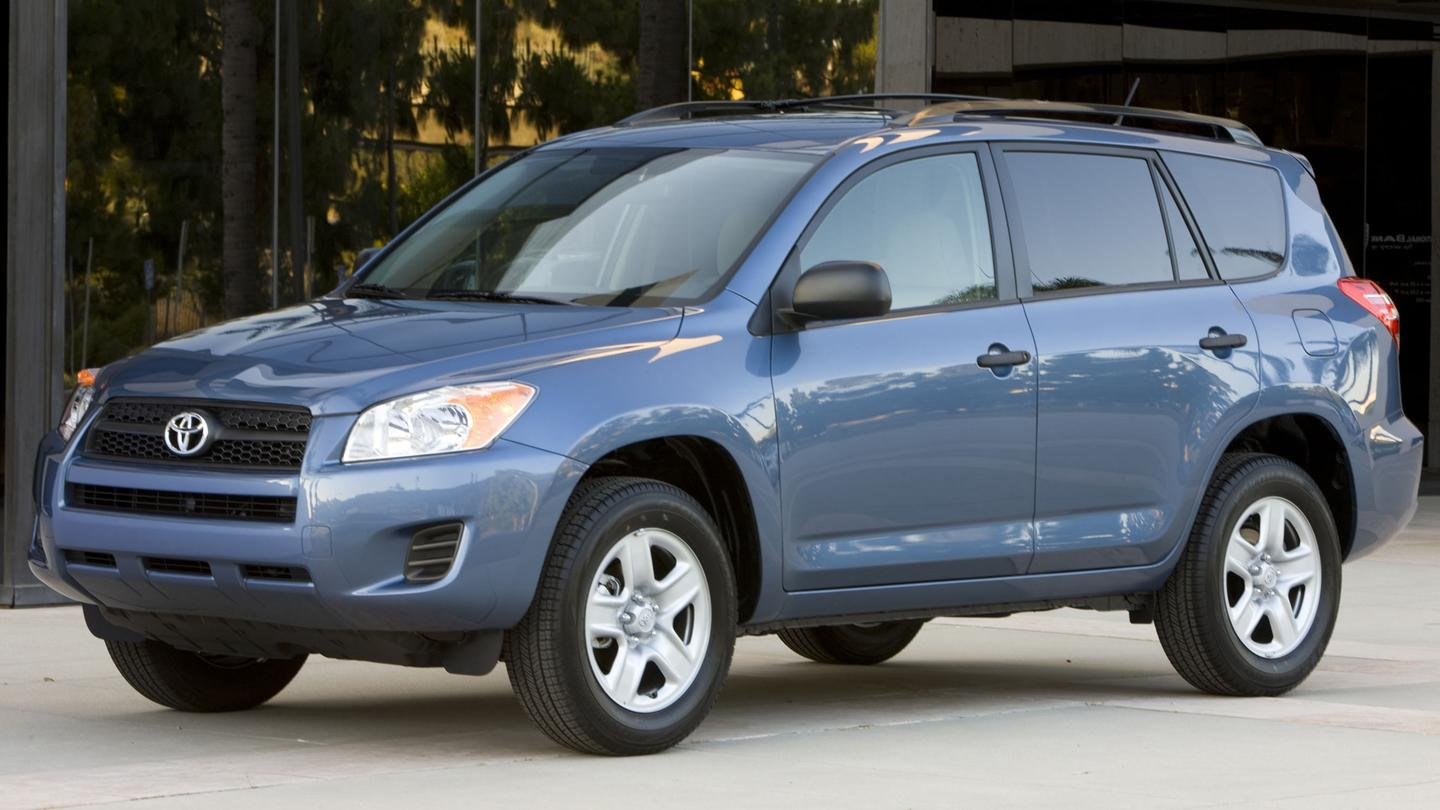 Toyota's RAV4 will be electric by 2012