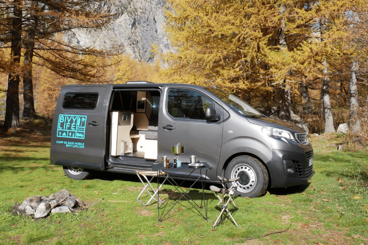 Bivy Life presents a simple but complete camper van package