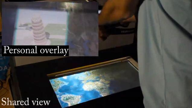 PiVOT lets users see multiple screens without obstructing the view of others