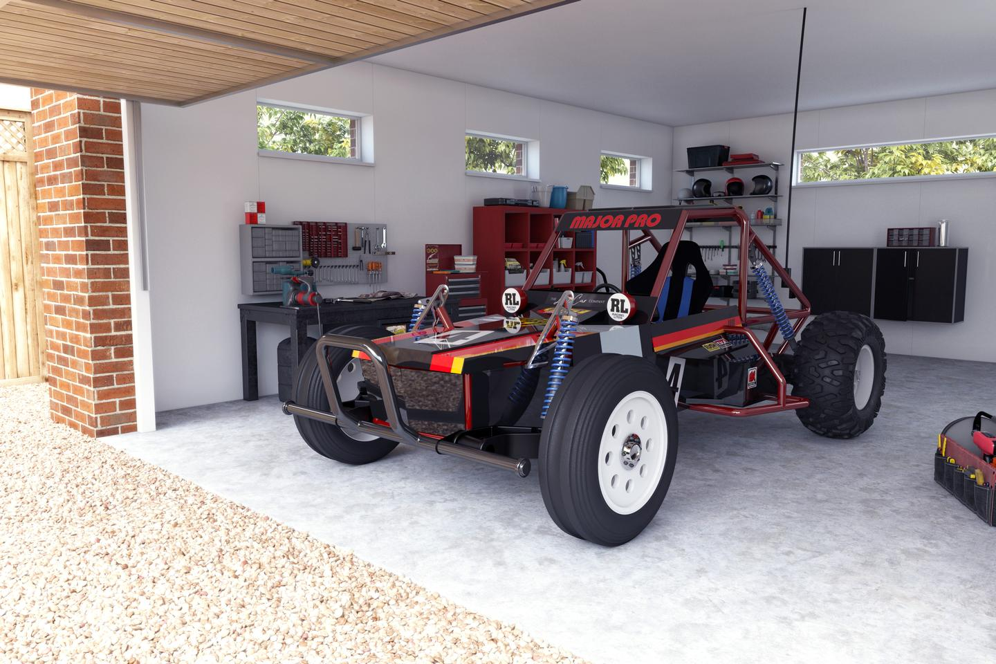 The 8/10th scale Wild One Max electric buggy will be available in 2022