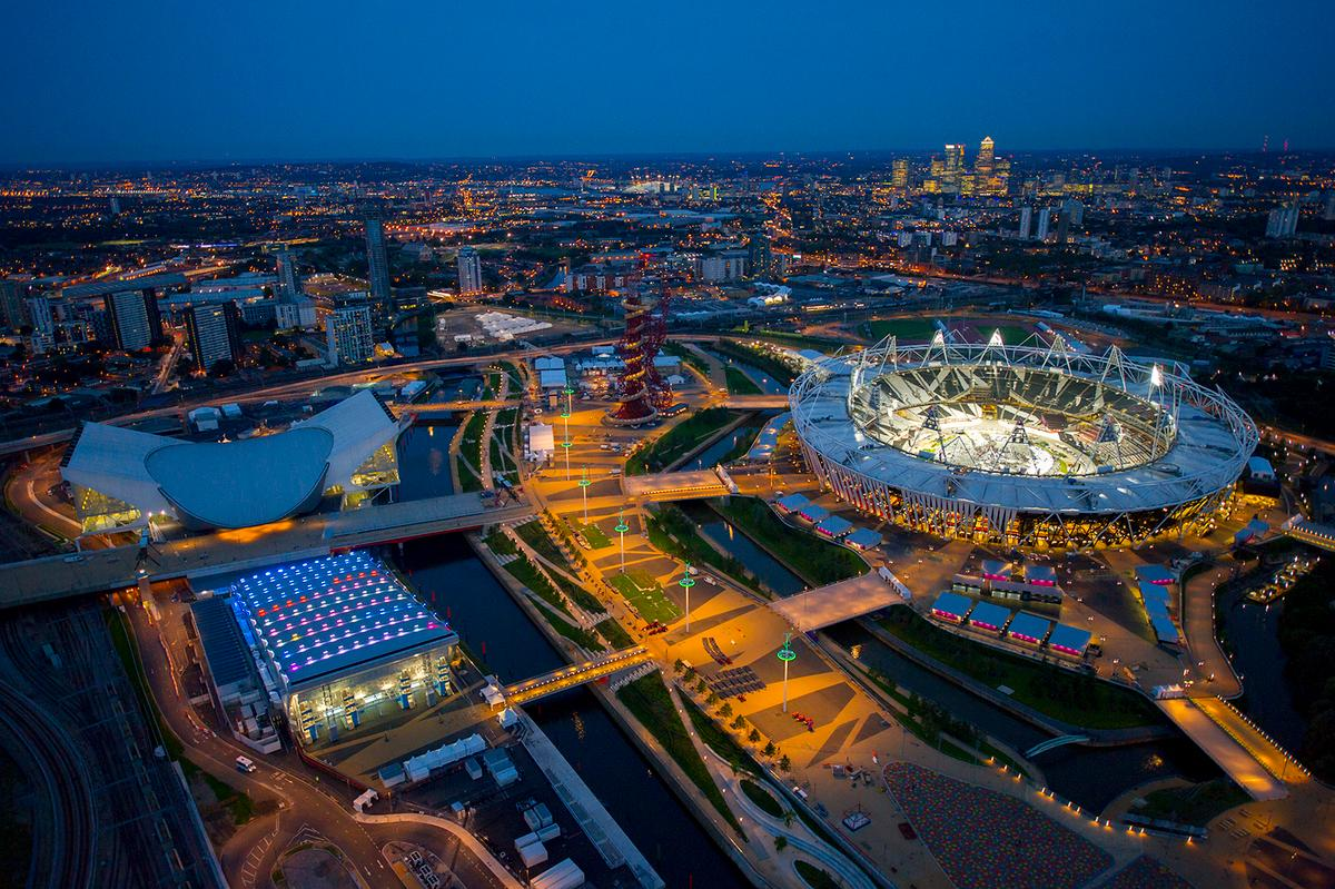 The Olympic Park Masterplan by Allies and Morrison (Photo: Jason Hawkes)