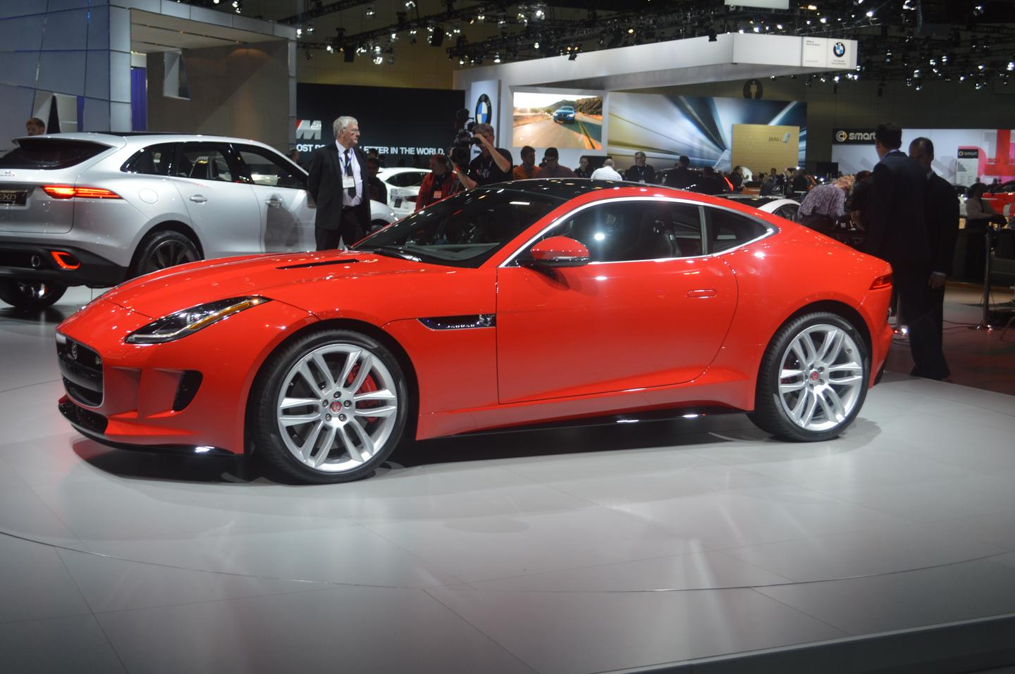 The F-Type Coupé is an advance on the convertible line