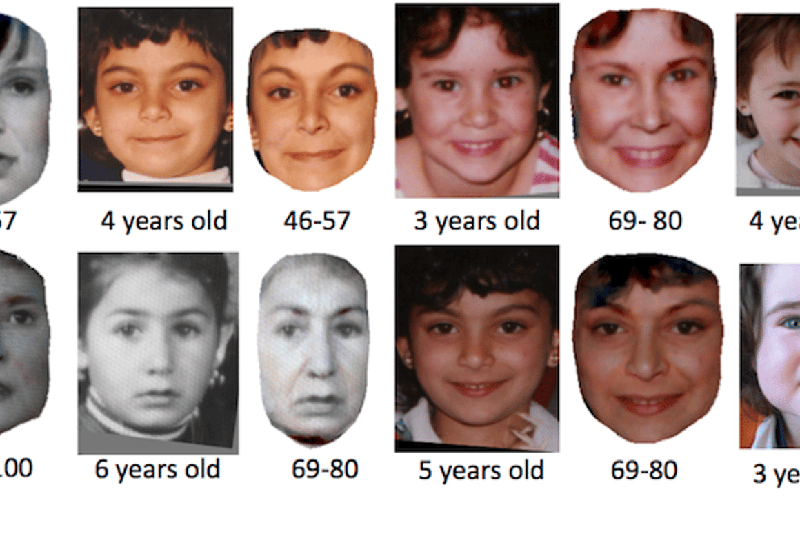 New software from the University of Washington can accurately predict what your kid will look like as an adult (Image: University of Washington)