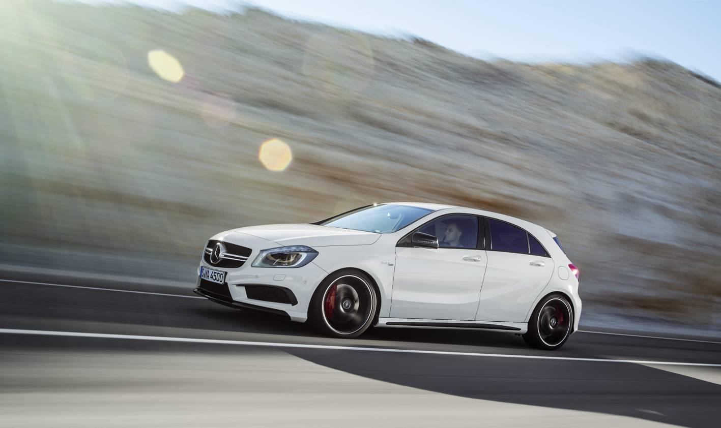 The A 45 AMG is AMG's first vehicle in the compact class
