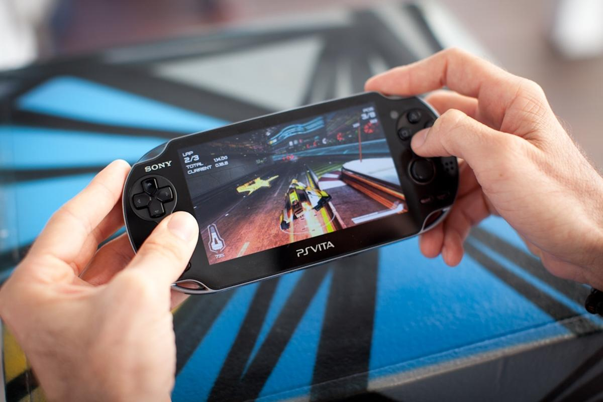 WipeOut 2048 on Sony's latest (and greatest?) portable gaming console, the PS Vita