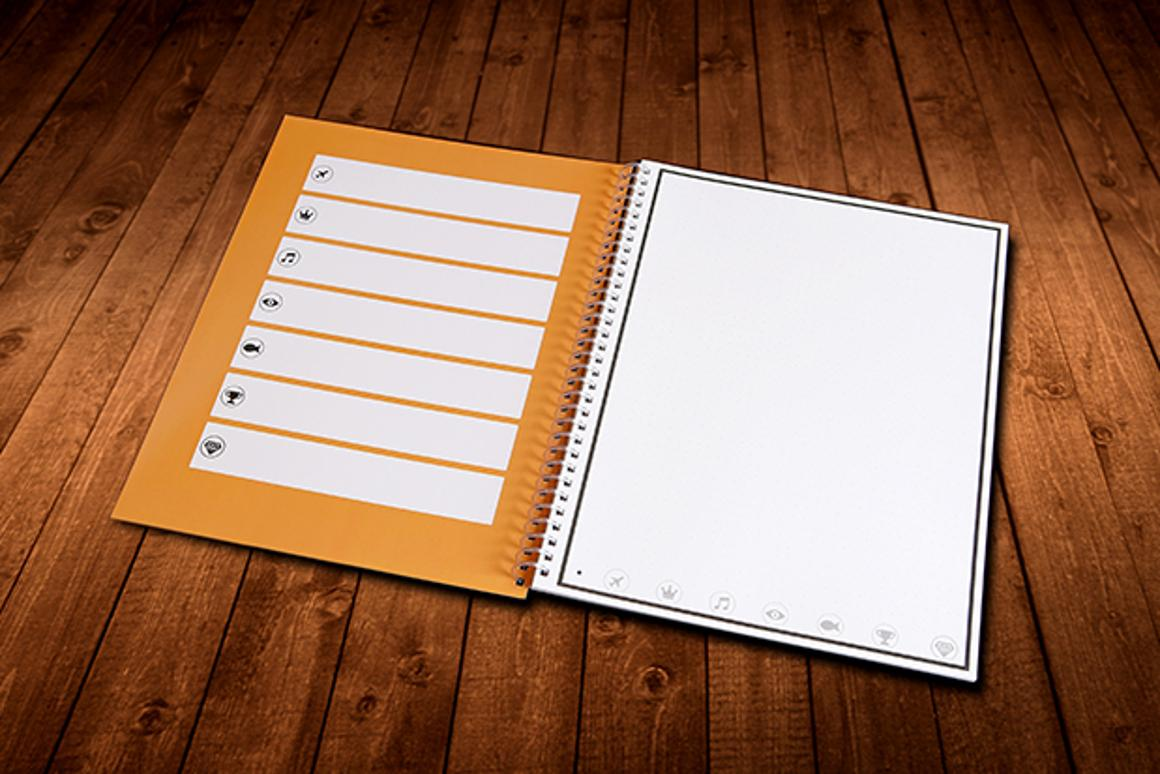 The Rocketbook's contents can be erased by placing it in the microwave for 30 seconds