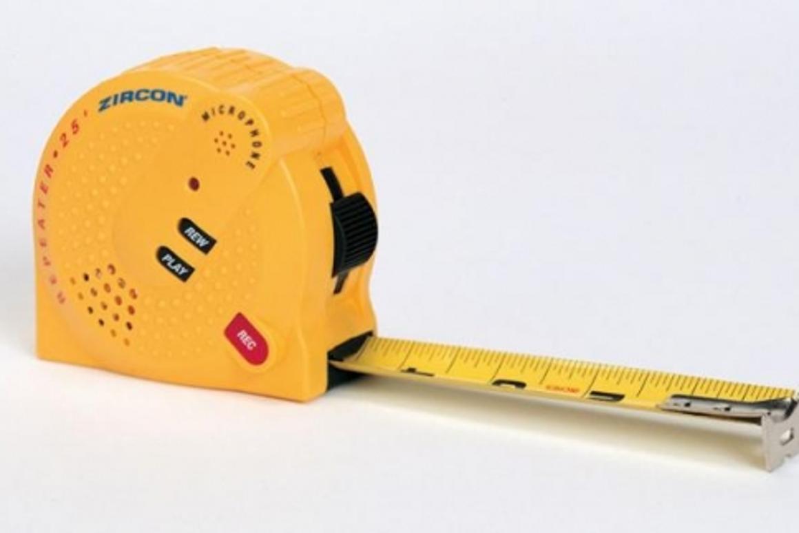 Zircon's Repeater 25 tape measure