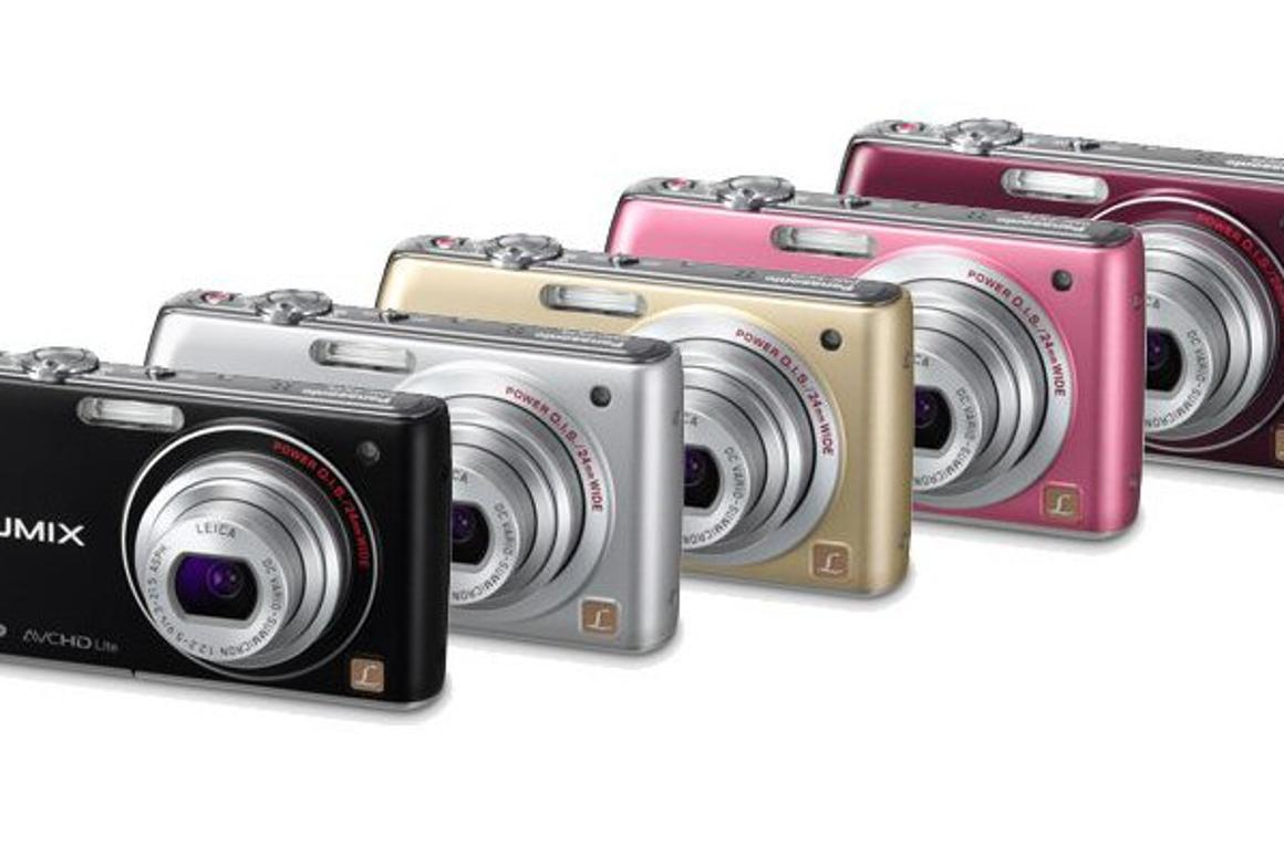 """Panasonic's new 14.1 megapixel LUMIX DMC-FX75 gives """"approximately 213% larger viewing space compared to that of a 35mm camera."""""""