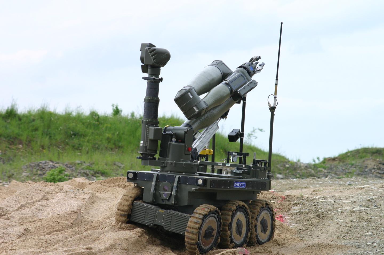 Northrop Grumman's CUTLASS UGV is designed to provide remote handling and surveillance of hazardous threats