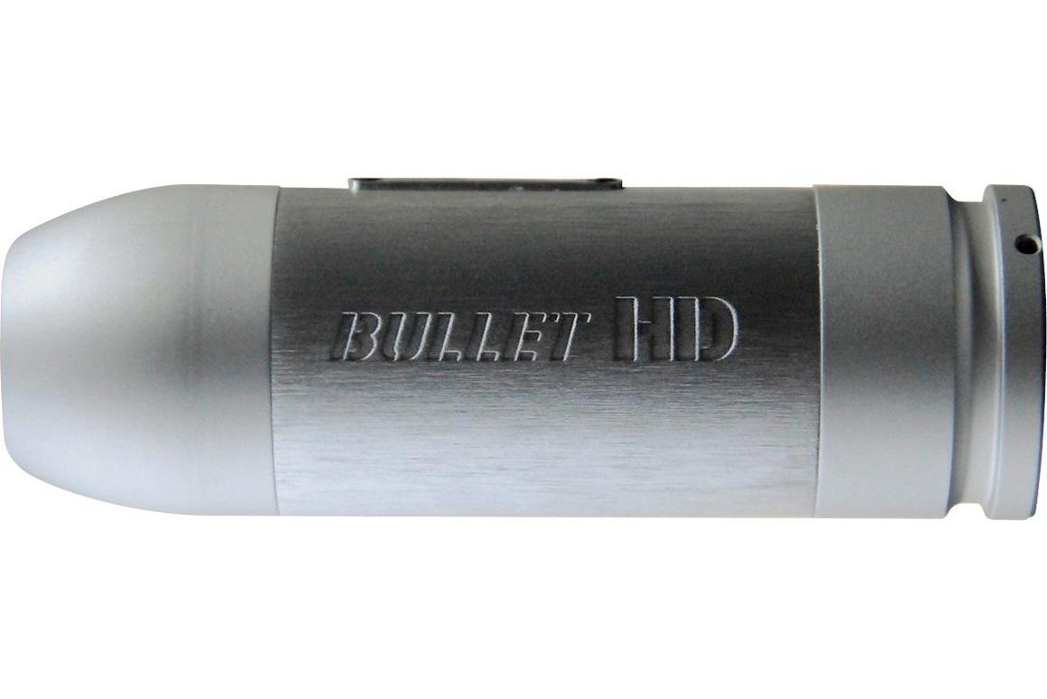 The Rollei Bullet HD actioncam records 720p video and is reportedly impervious to dust and impacts, but lacks a viewfinder (Photo: Rollei)