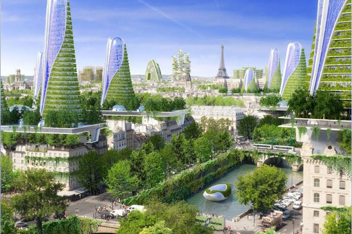 New Atlas takes a look at Vincent Callebaut's most interesting architectural designs